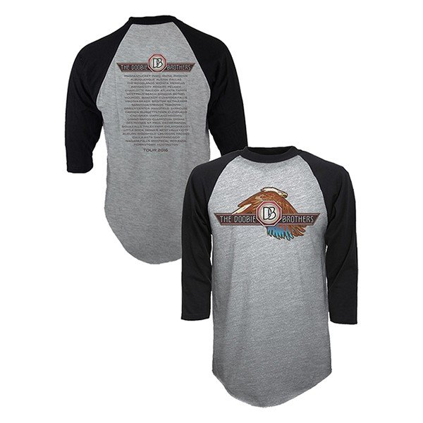Two Tone Eagle Logo Raglan Shirt