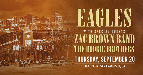 The Doobie Brothers Added to Eagles AT&T Park Show
