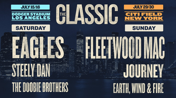 The Classic Concerts Just Announced in Los Angeles & New York