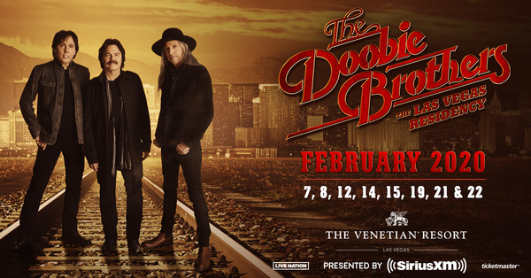 The Doobie Brothers Announce 2020 Las Vegas Residency at The Venetian Theatre