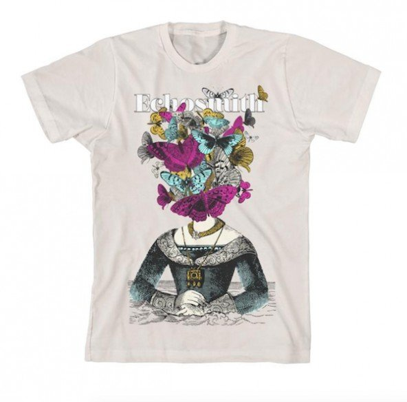 Butterfly Face Unisex T-Shirt