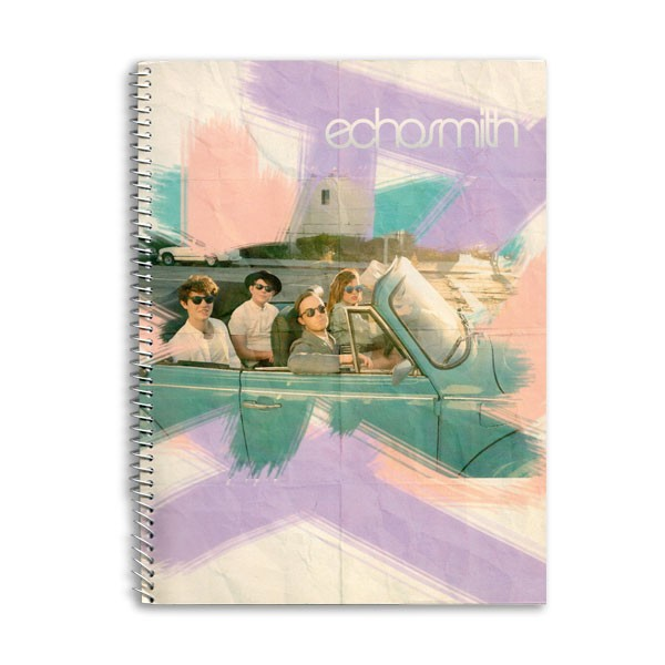Echosmith Spiral Notebook