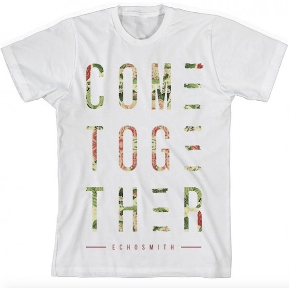 Come Together Floral Unisex T-Shirt
