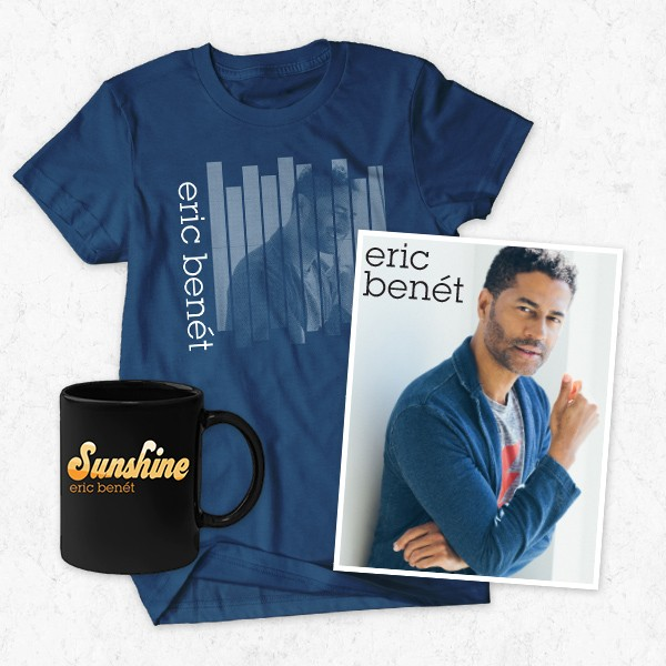 Eric Benet Fan Club Bundle