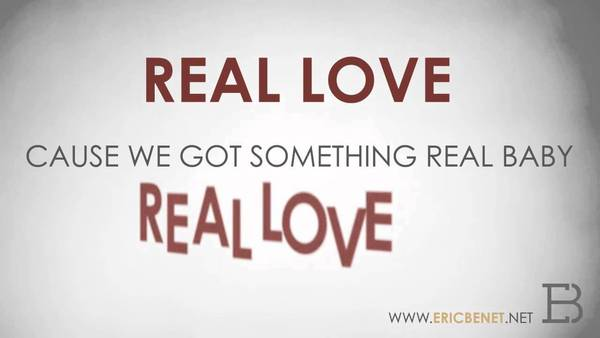 Real Love - OFFICIAL LYRIC VIDEO