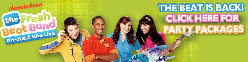 Fresh Beat Band Banner