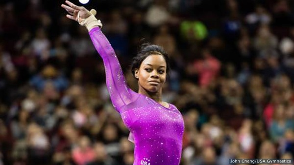 Gabby Douglas Wins AT&T American Cup To Start Olympic Year