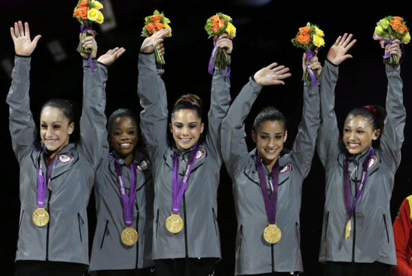 Gymnasts Gabby Douglas, Aly Raisman Return to Competition