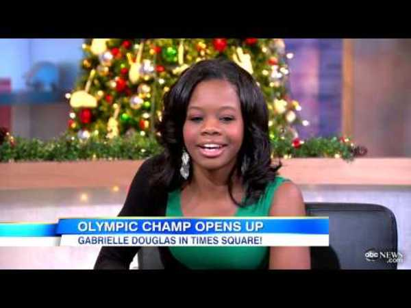 Gabrielle Douglas Wanted to Quit Gymnastics, Work at Chick-fil-A  'GMA' Interview 2012