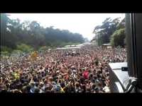 Mike Crowd Surfs at Outside Lands 2012