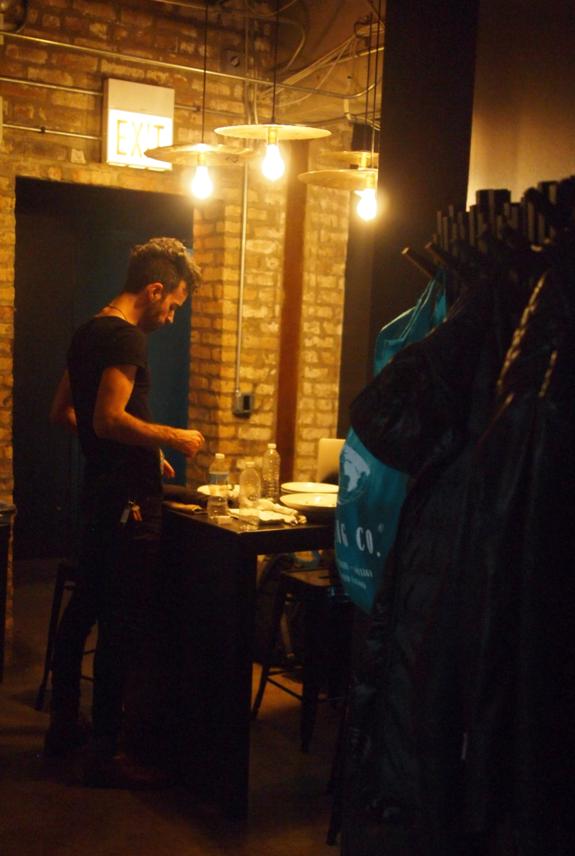 Mike Backstage