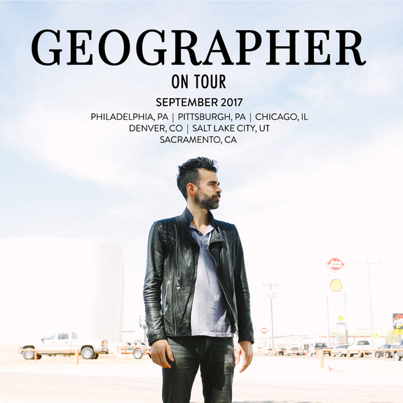 Geographer September Tour Dates