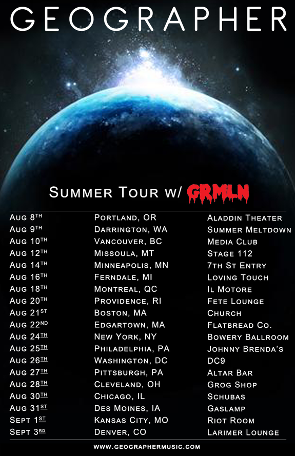 geographer grml tour poster