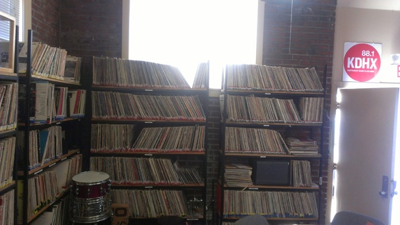 KDHX Studio Vinly Collection