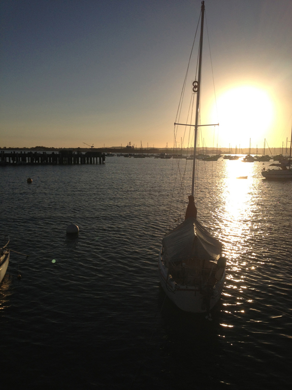 San Diego Hardbor near Casbah