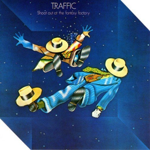 Traffic: Shoot Out at the Fantasy Factory - Cover Art