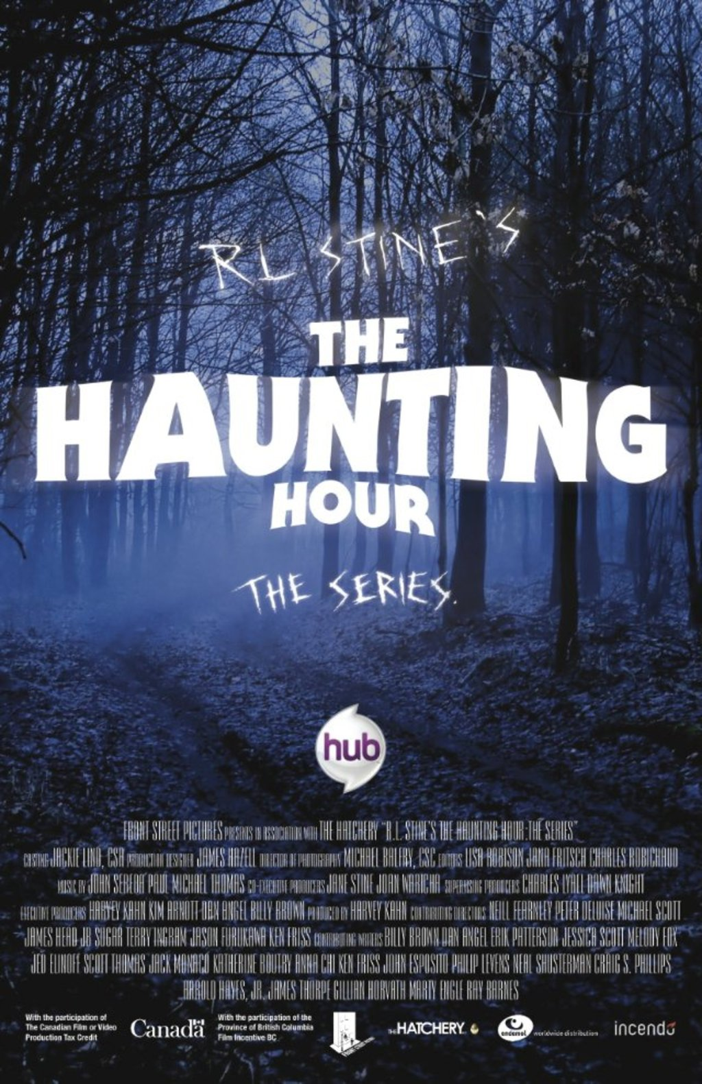 R.L. Stine's The Haunting Hour - Cover Art