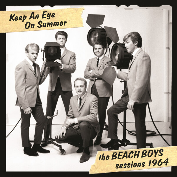 Keep An Eye On Summer - The Beach Boys Sessions 1964 - Cover Art