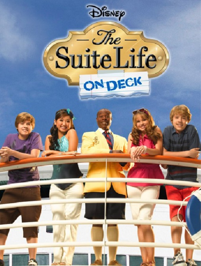 The Suite Life on Deck - Cover Art