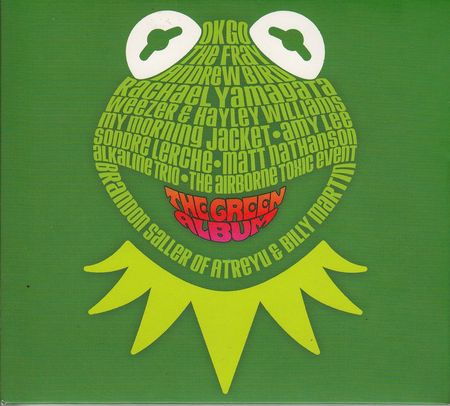 Muppets: The Green Album - Cover Art