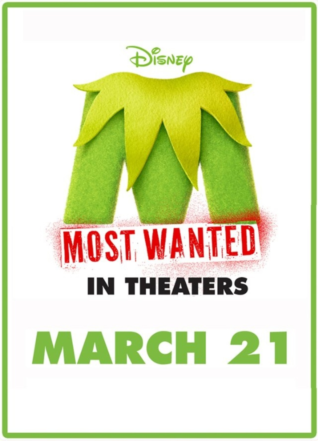 Muppets Most Wanted - Cover Art
