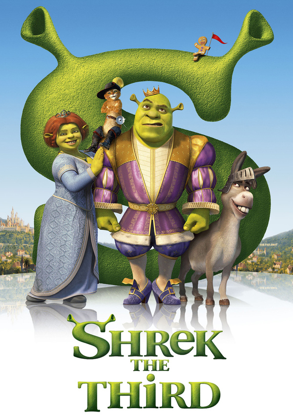 Shrek The Third - Cover Art
