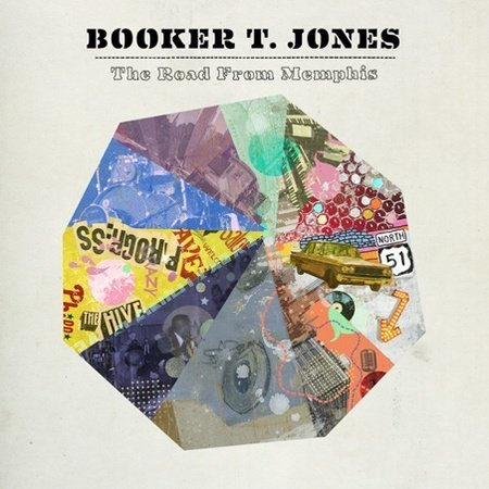 Booker T. Jones: The Road From Memphis - Cover Art