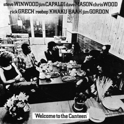 Traffic: Welcome to the Canteen - Cover Art