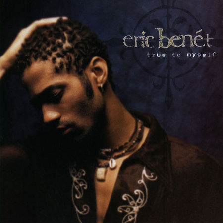 Eric Benet True to Myself - Cover Art