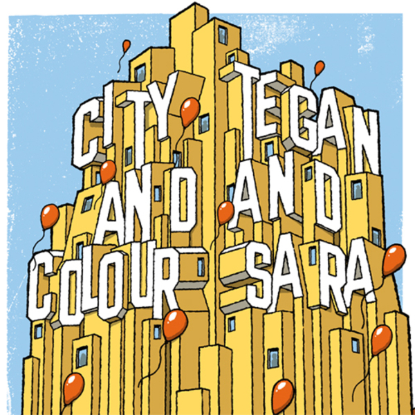 City and Colour / Tegan and Sara - Split 7