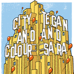 "City and Colour / Tegan and Sara - Split 7"" - Cover Art"