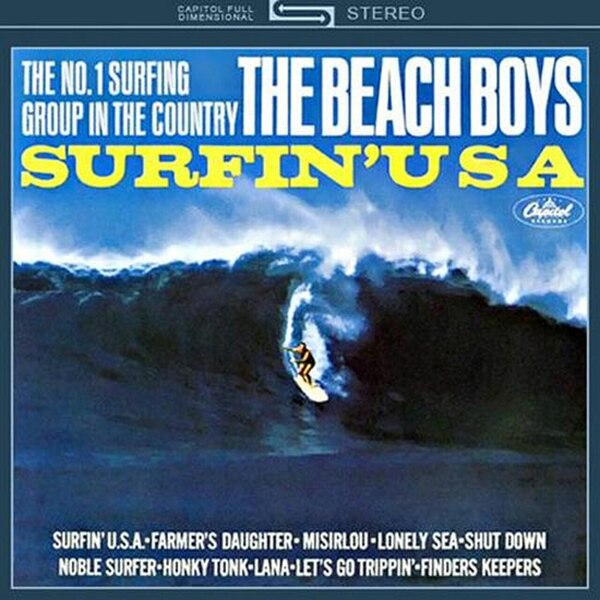 Surfin' USA - Cover Art