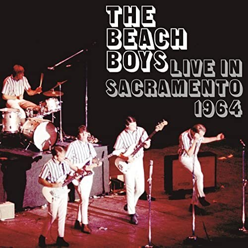 The Beach Boys Live In Sacramento 1964 - Cover Art