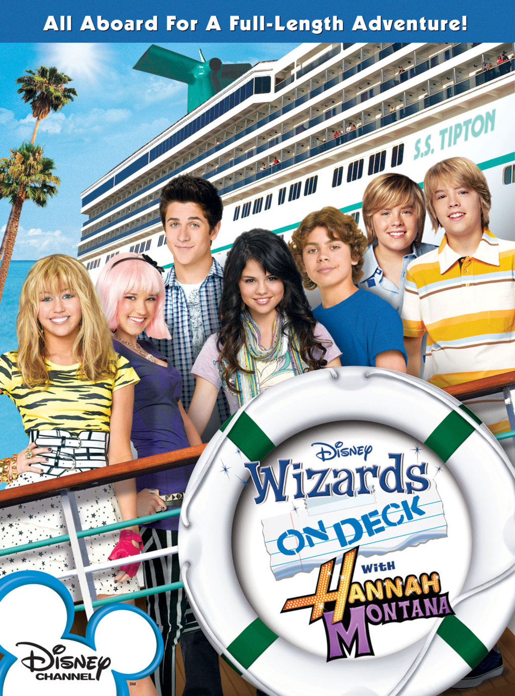 Wizards on Deck With Hannah Montana - Cover Art