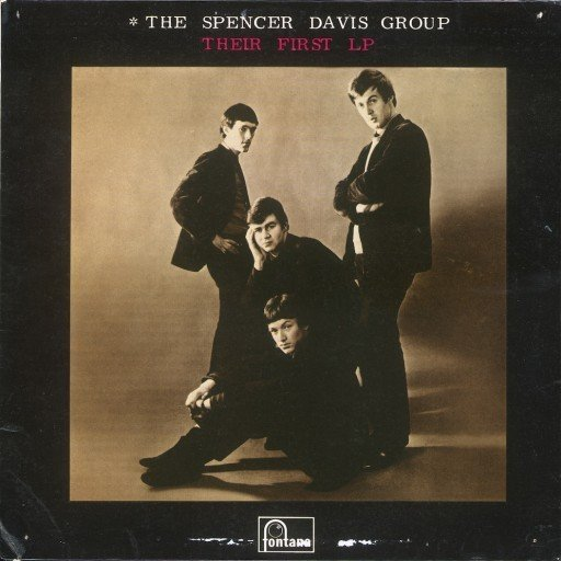 The Spencer Davis Group: The First LP - Cover Art