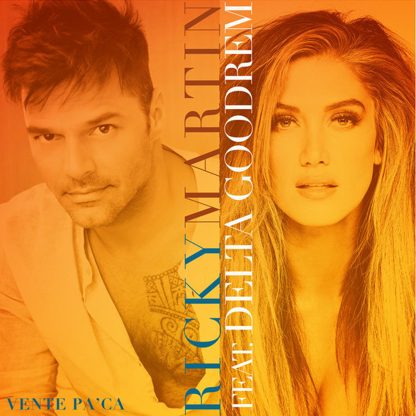 Vente Pa' Ca with Ricky Martin (2016) - Cover Art
