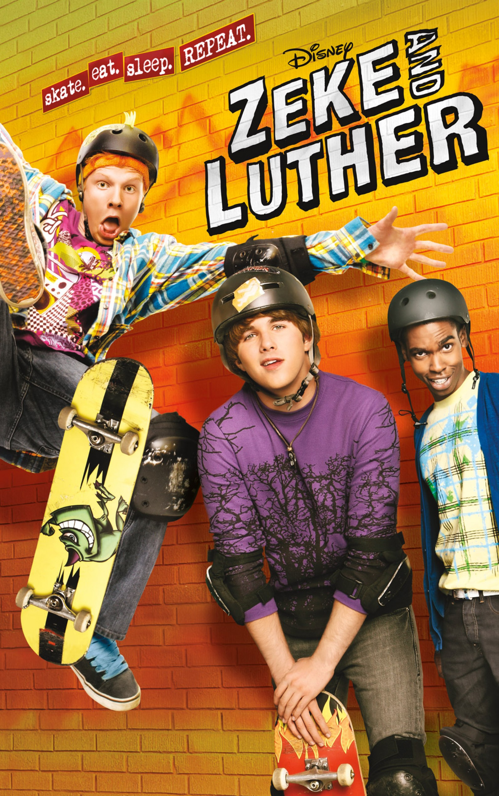 Zeke and Luther - Cover Art