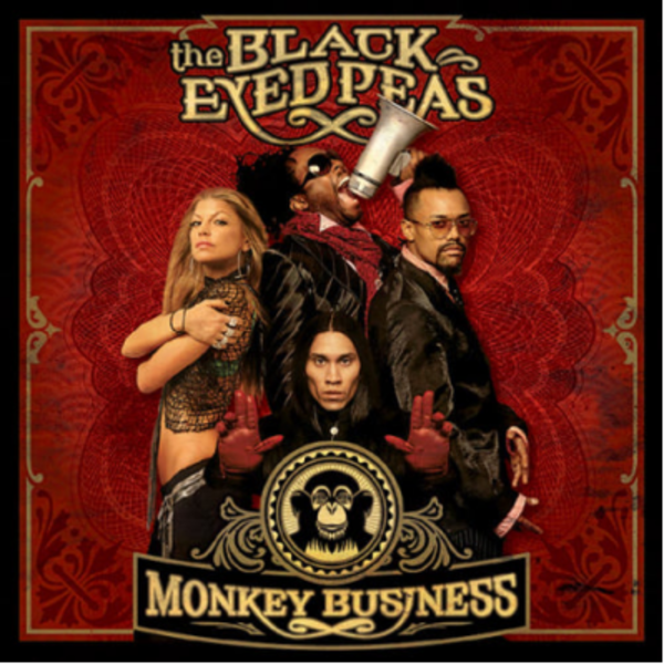 Black Eyed Peas - Monkey Business - Cover Art