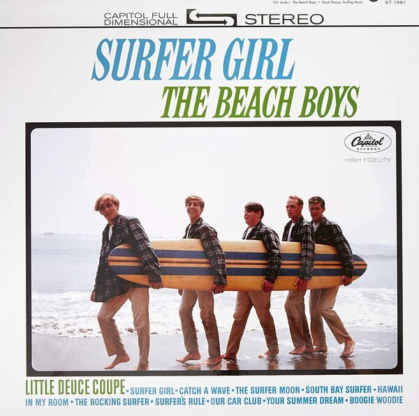 Surfer Girl - Cover Art