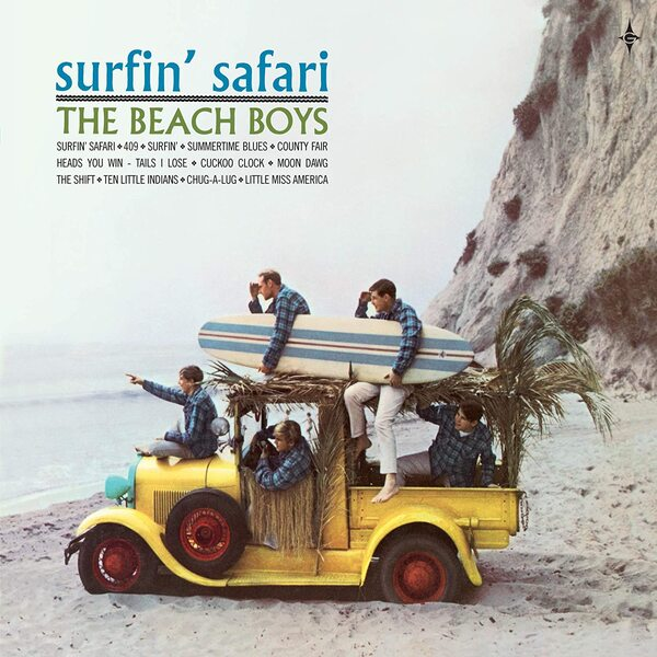 Surfin' Safari - Cover Art