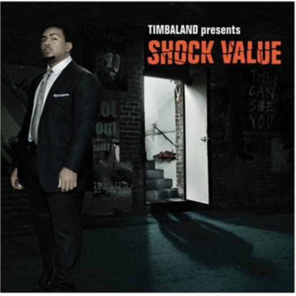 Timbaland presents Shock Value - Cover Art
