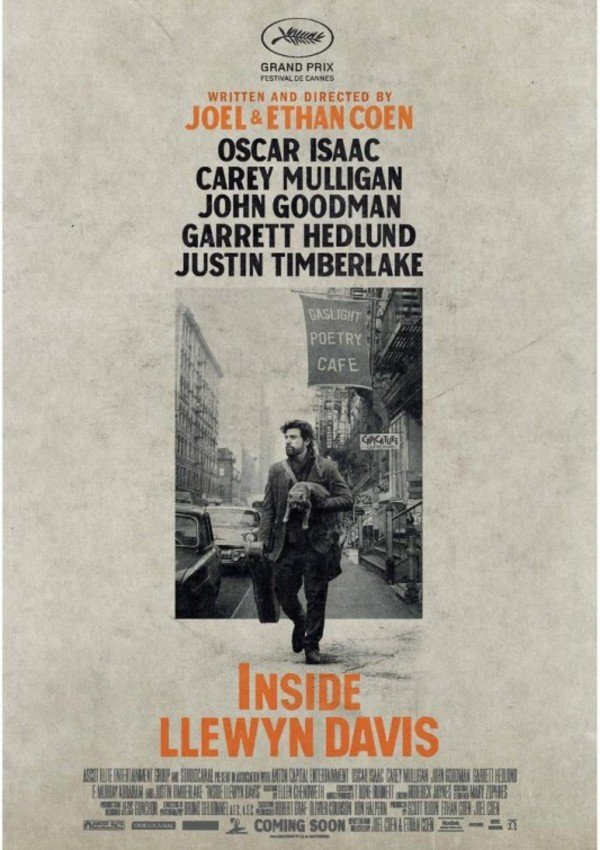 Inside Llewyn Davis - Cover Art