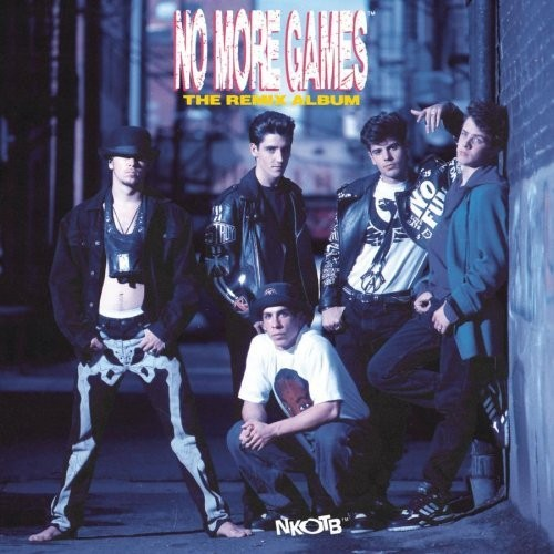 No More Games/The Remix Album - Cover Art