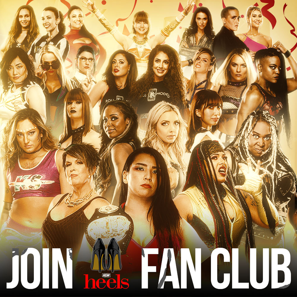News article image AEW HEELS LAUNCHES DYNAMIC MEMBERSHIP PLATFORM FOR FEMALE WRESTLING FANS