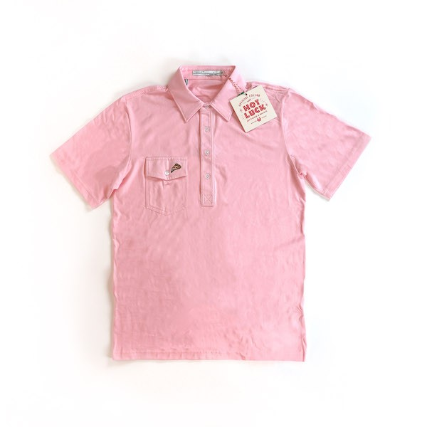 Pink Criquet Polo - Pizza