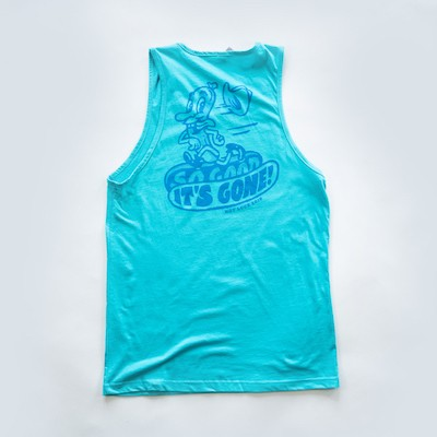 Blue Hot Dog Tank