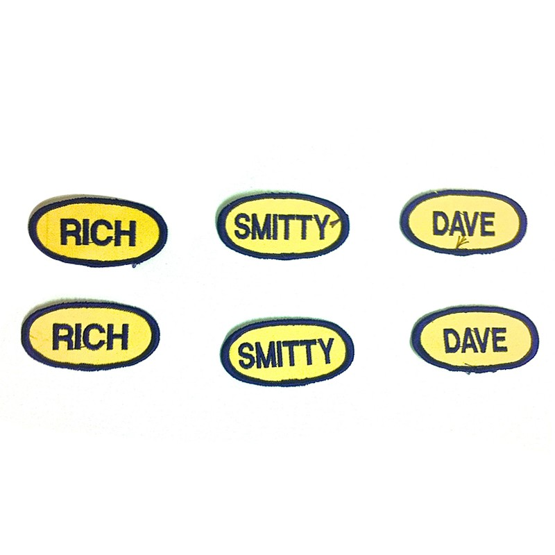 Mini Name Patches