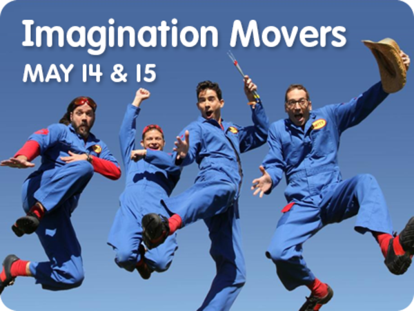 Imagination Movers Return to Sesame Place