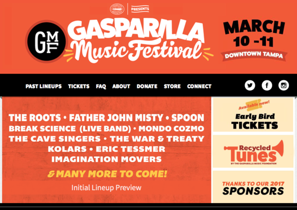 Movers Play 2018 Gasparilla Music Festival