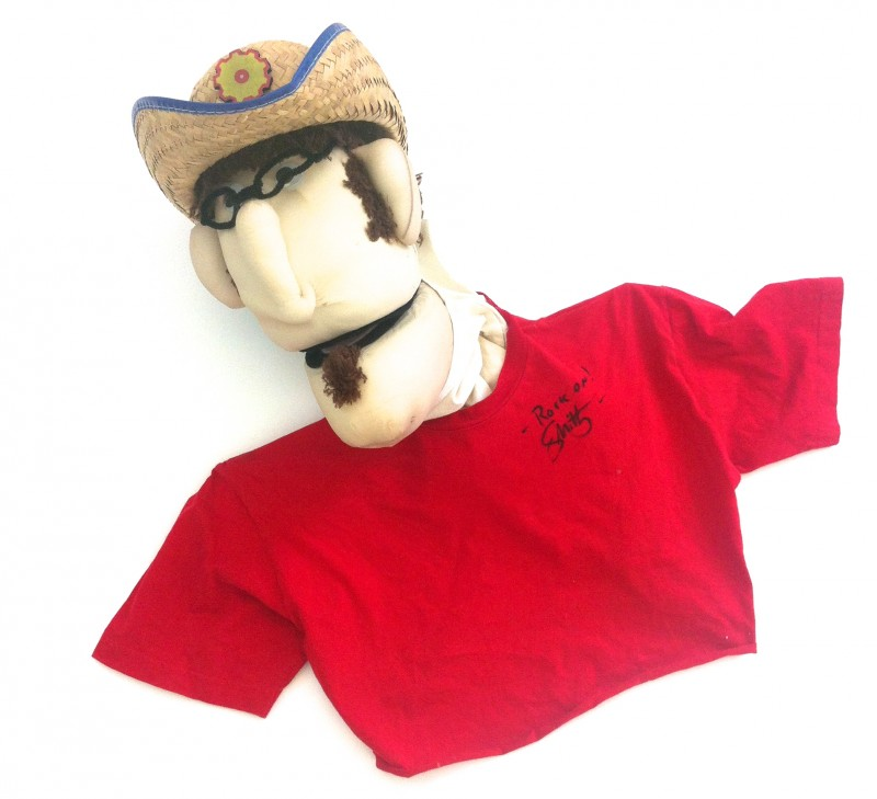 Autographed Smitty Puppet